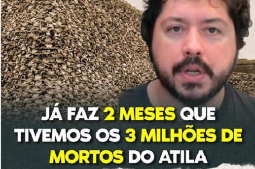 Deputada ironiza previsão de Atila Iamarino de 1 milhão de mortos pela Covid-19 no Brasil