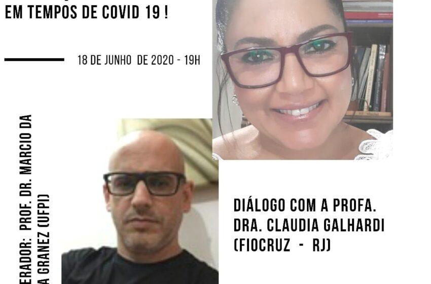 """""""Plataformas digitais e a propagação de fake news em tempos de COVID 19"""" é o tema do Diálogos de Checagem desta quinta-feira (18)"""