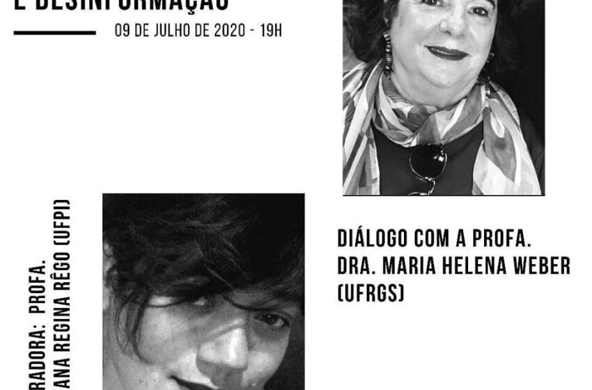 """""""Comunicação pública e desinformação"""" é o tema do Diálogos de Checagem desta quinta-feira (09)"""