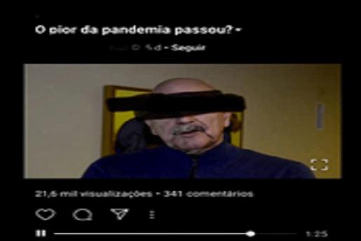 Pandemia está prestes a acabar no Brasil e mídia brasileira é culpada por não noticiar essas informações?