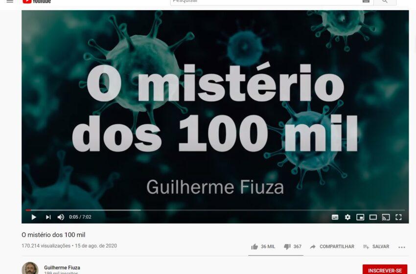 Vídeo distorce os dados de óbitos para negar as mais de 100 mil mortes por COVID-19 no Brasil