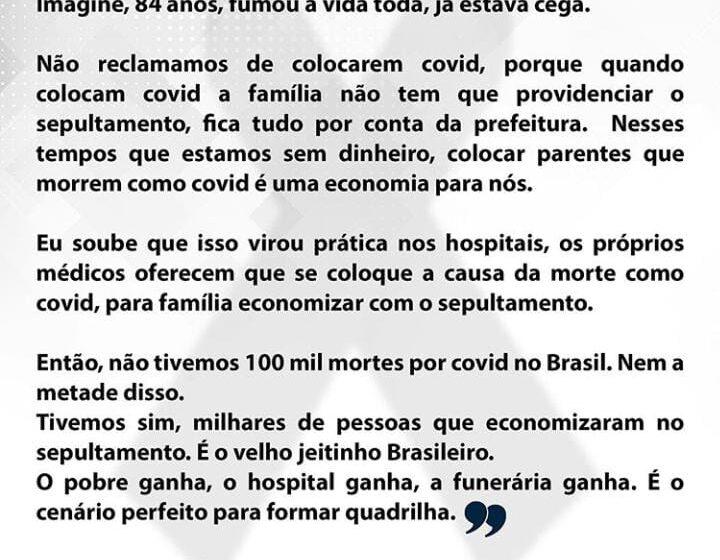 Brasil bate a marca de mais de 100 mil mortos por covid-19 e gera dúvidas