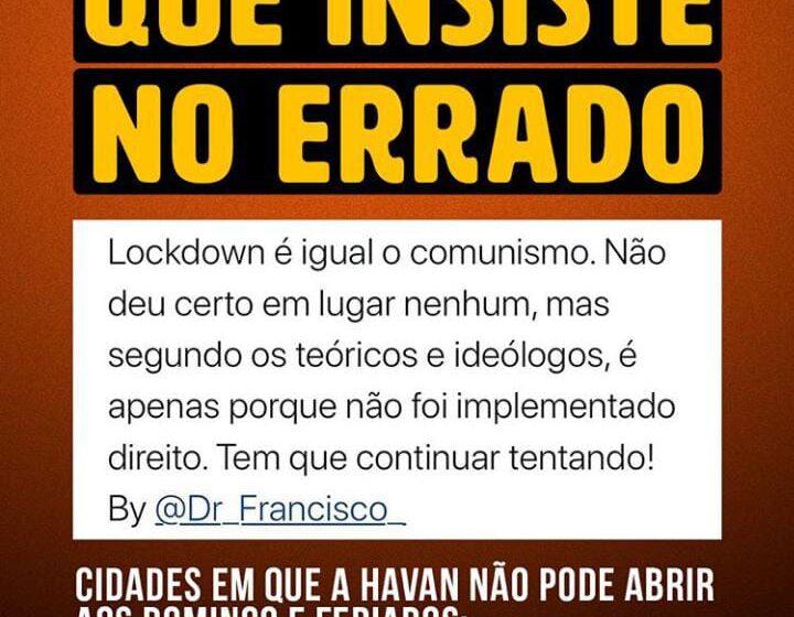 Lockdown executado no Brasil trouxe ou não resultados positivos