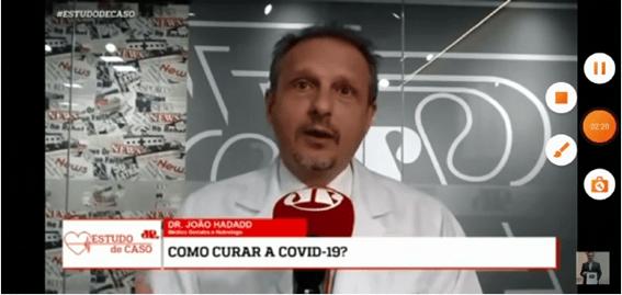 Médico questiona tempo de testes das vacinas contra a Covid-19