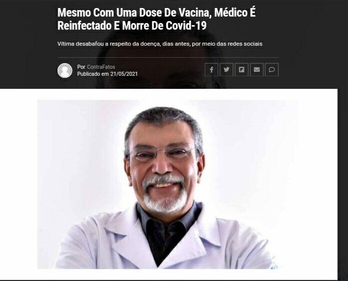 Especialistas explicam casos de morte por covid-19 mesmo após vacina