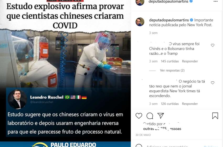 Estudo explosivo afirma provar que cientistas chineses criaram a COVID-19?