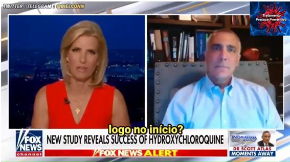 Médico afirma que hidroxicloroquina poderia ter salvado até 100 mil americanos
